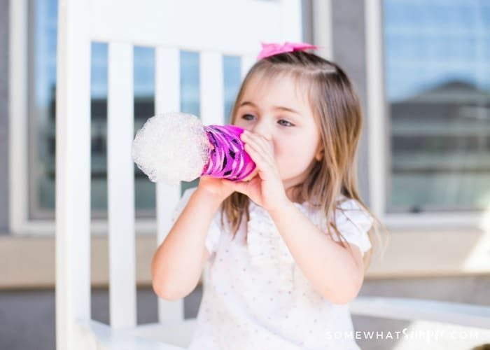 Bubble Snakes – A Simple Outdoor Activity for Kids