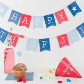 4th of July Part Printables set up and ready