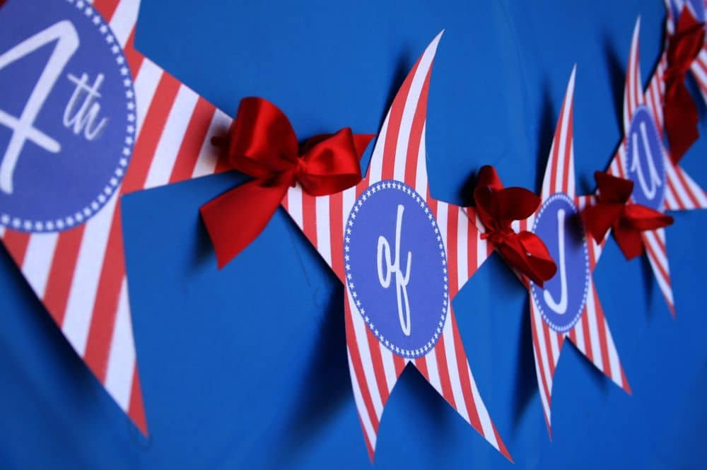 4th of July Party and Free Printables