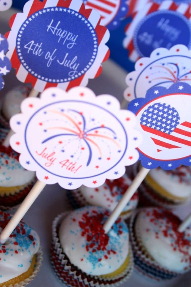 Cupcake Toppers Two