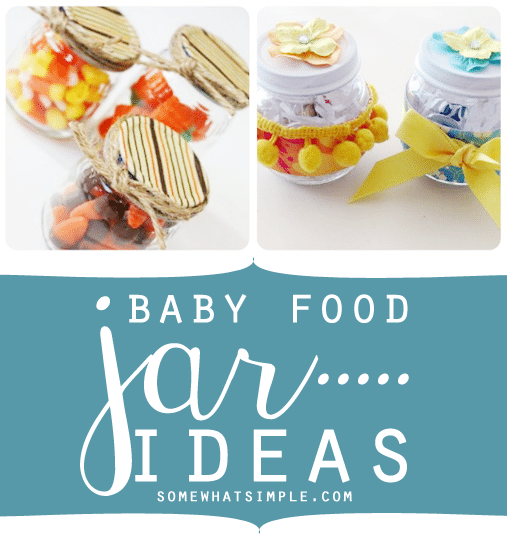 baby food jar ideas