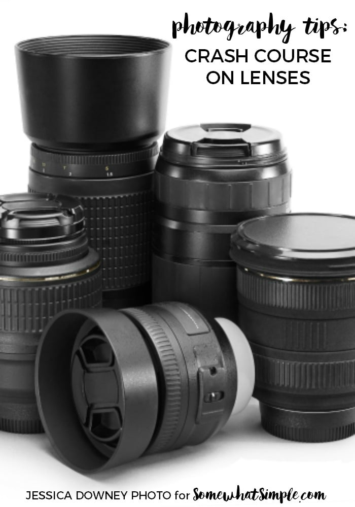 photography tips - all about lenses