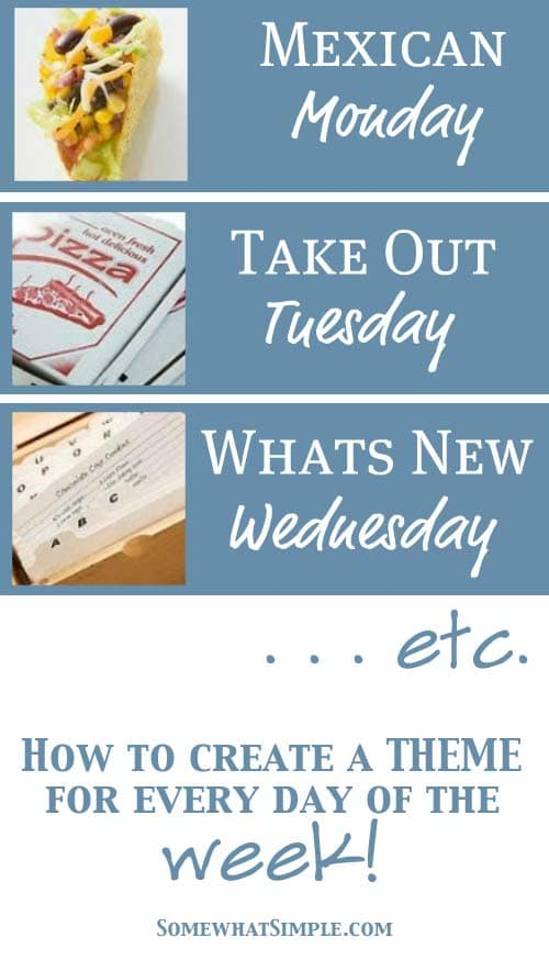 meal themes