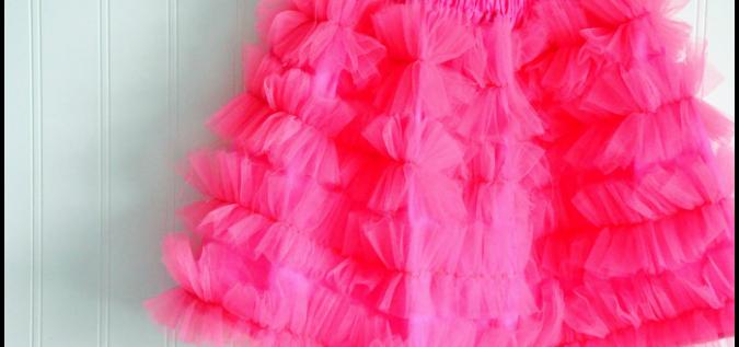 $5 Tulle Skirt