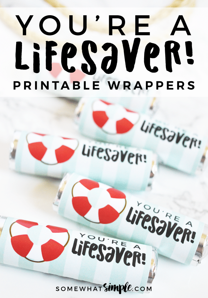 lifesaver printables