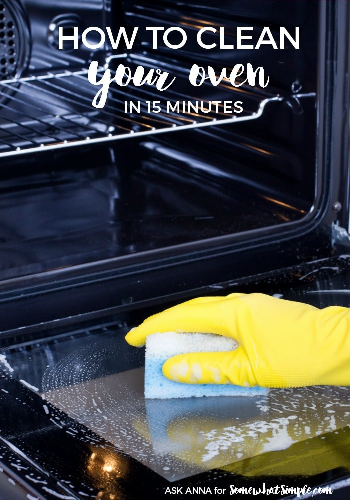 How To Clean The Oven Glass The Easiest Way Somewhat Simple