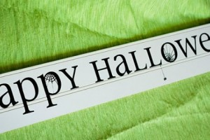 Simple Halloween Sign-5581