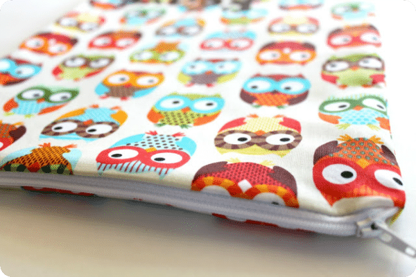 school book zipper pouch 13