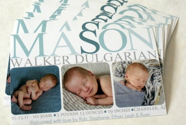 How to make your own birth announcements – How to Make a Birth Announcement