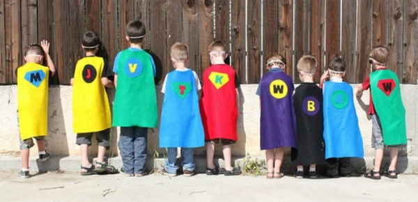 Make Your Own Superhero Capes for Kids