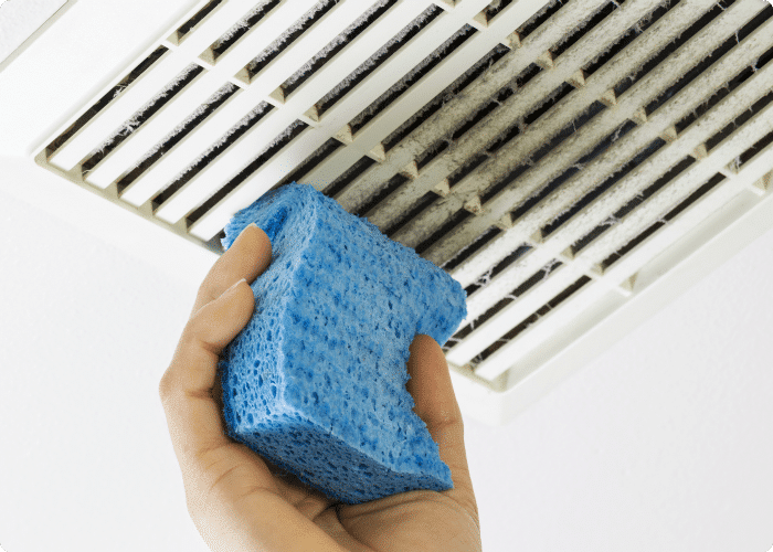 how to clean vents- vent cleaning