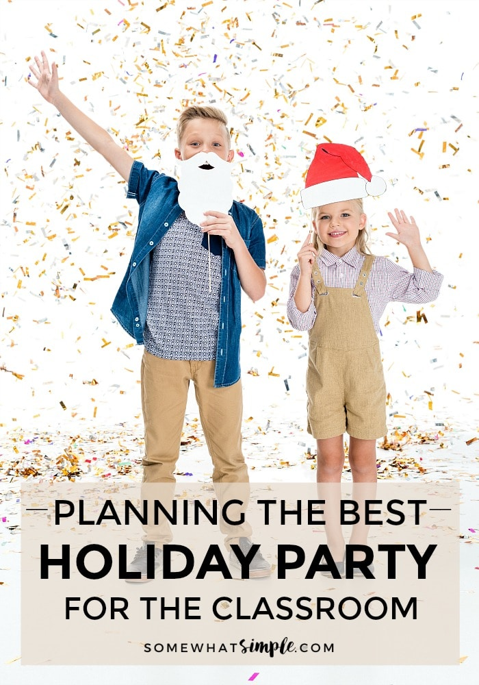 Elementary School Christmas Party Idea