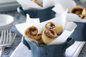 bite sized cinnamon rolls