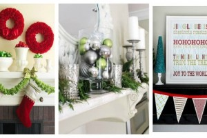 christmas mantel decorating ideas 5