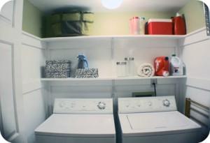 Big laundry closet