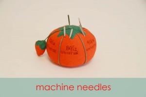 Machine Needles Pincushion