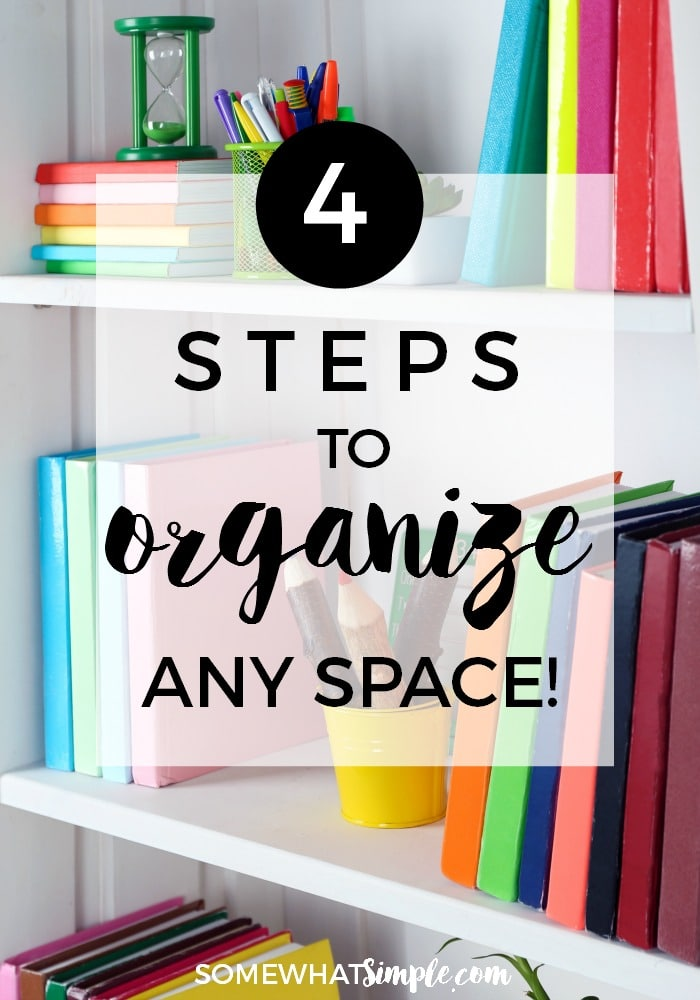 Steps to Organizing
