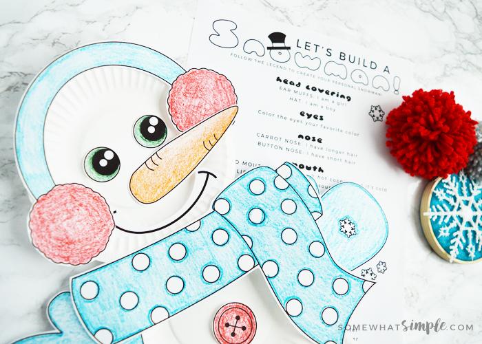 Build A Snowman Activity Kit + Free Printables!