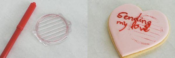 conversation heart cookies 5