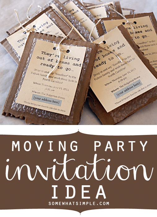 moving party invite