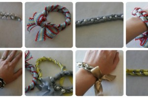 ribbon and chain bracelet featured image