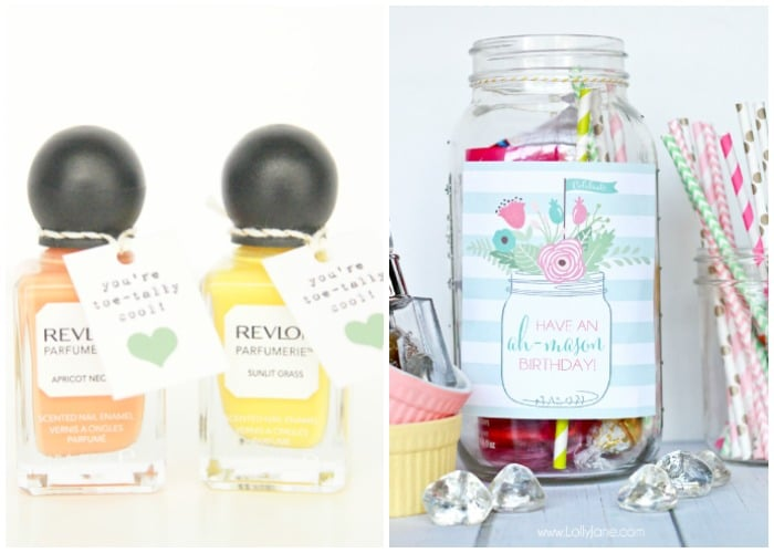 Easy Birthday Gift Ideas Involving Candy And Make Up