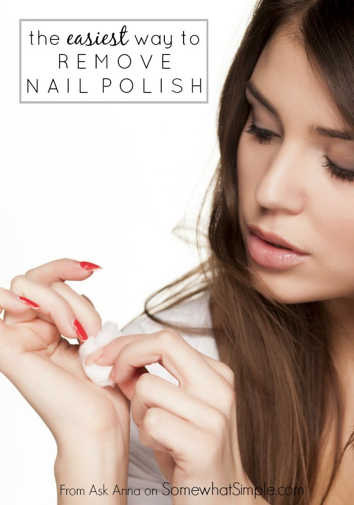 how to remove nail polish 1