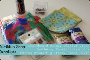 scribble shop supplies