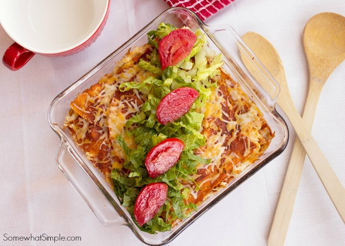 Chicken Enchilada Bake Recipe 4