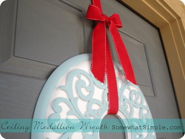 ceiling medallion wreath 4