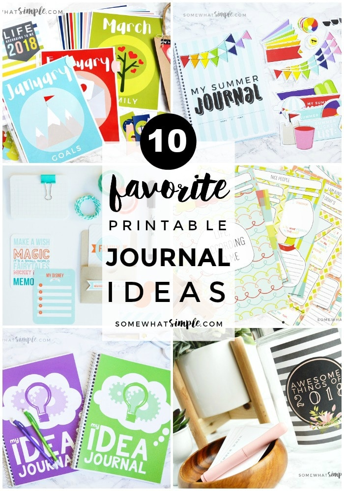 Favorite Journal Ideas