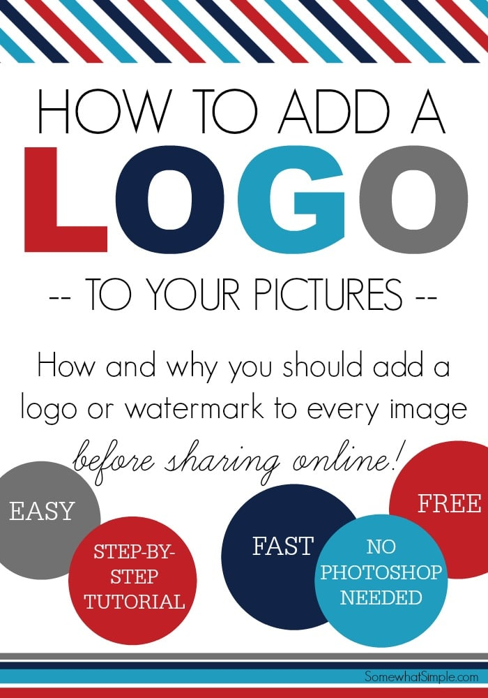 How to add a logo
