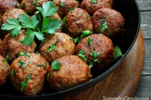 Sweet and Savory Meatball Recipe