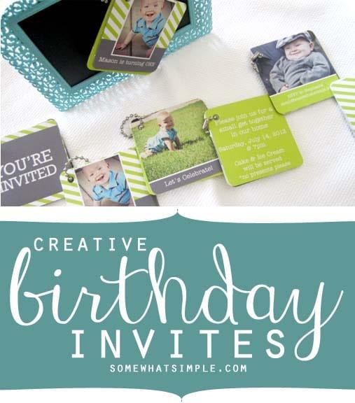Creative birthday invitations birthday invites filmwisefo
