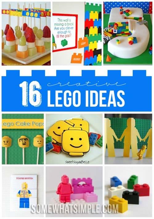 creative lego ideas