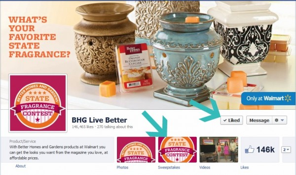 Better Homes And Gardens State Fragrance Contest