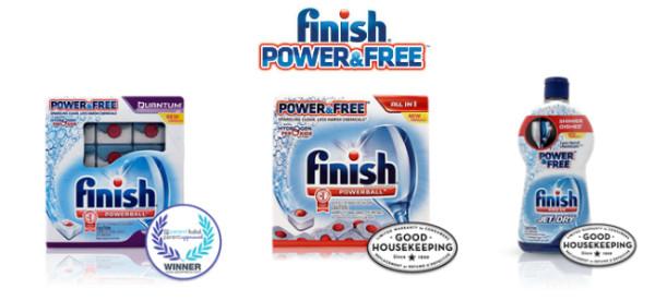 Finish-Power-Free-Dishwasher-Products