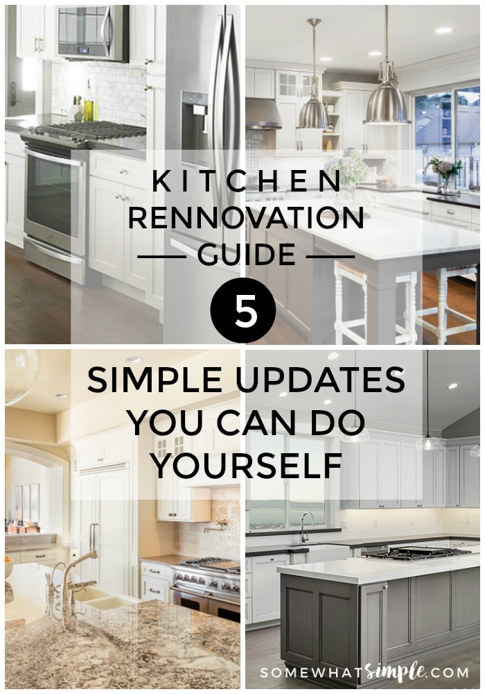 Kitchen rennovation guide 5 simple kitchen updates for Complete kitchen remodel price