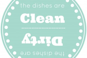 clean and dirty dishes 1