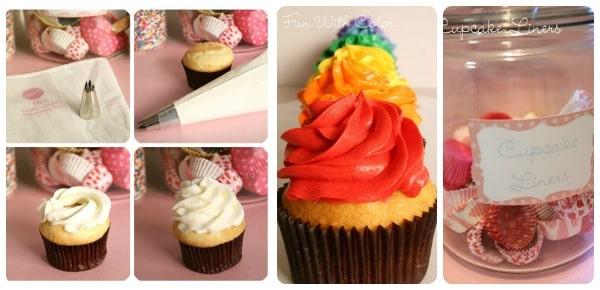 Cupcake Love Week 3- Cupcake Decorating Ideas