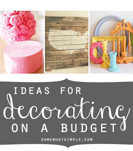 Decorating on a budget for Pinterest home decorating on a budget
