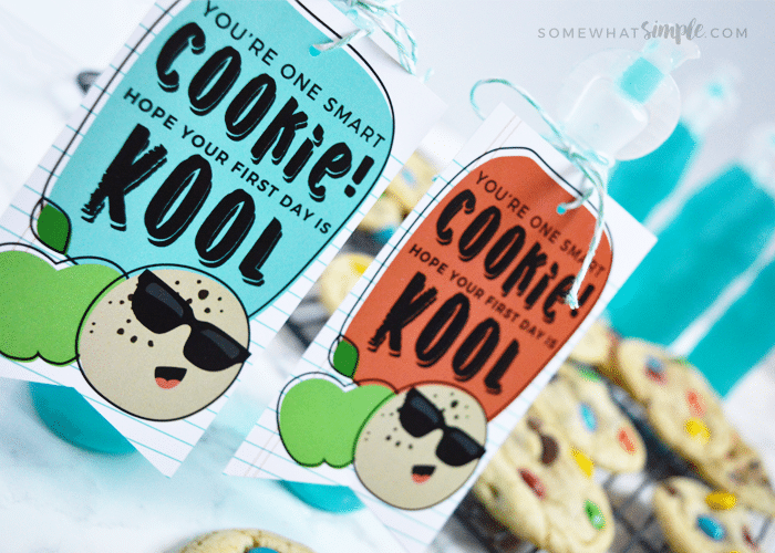 Happy First Day of School – Smart Cookie Gift Tag Printables