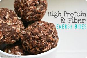 High Protein & Fiber Energy Bites
