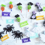 halloween lollipops