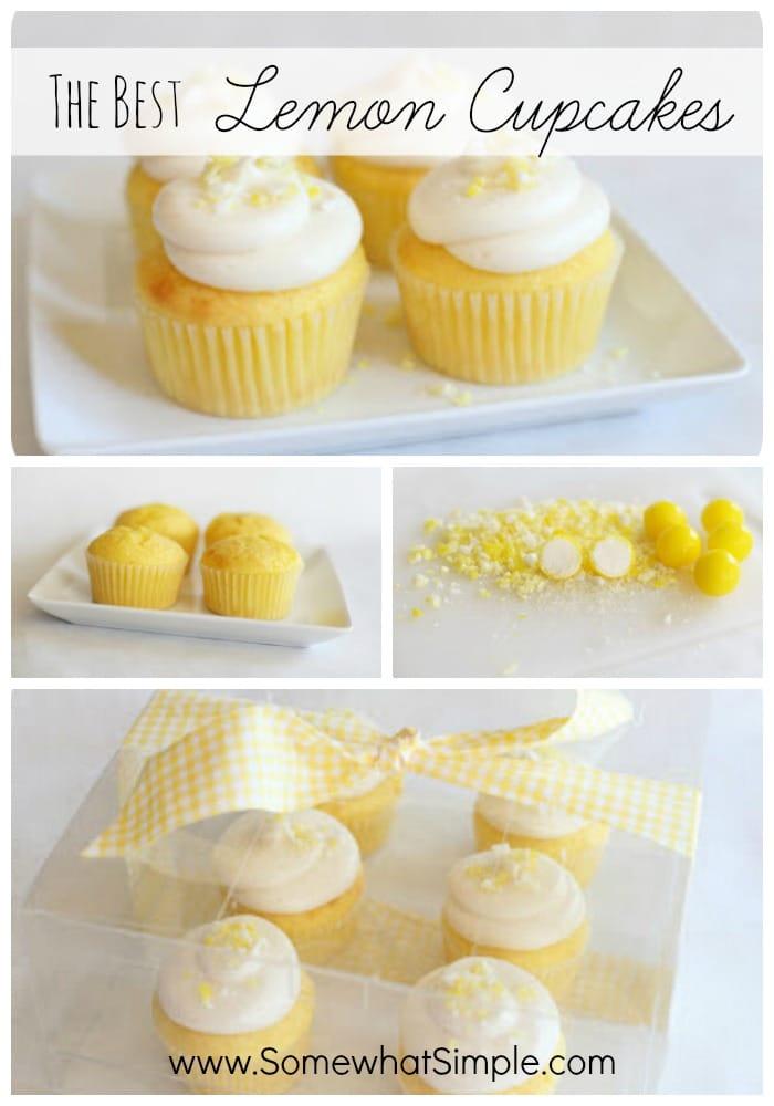 Lemon Cupcakes With Yellow Cake Mix