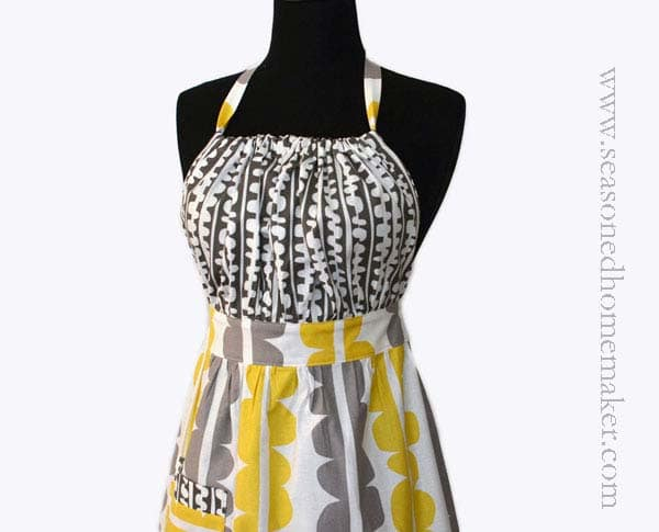 how to choose the best fabric for an apron