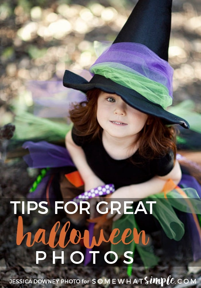 Grab your camera! Today we are sharing some helpful tips on how to capture the best Halloween photos! via @somewhatsimple
