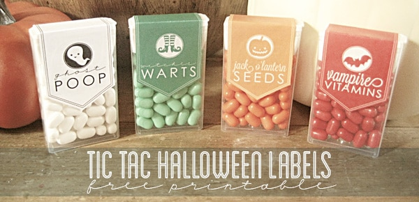 tic tac labels for halloween