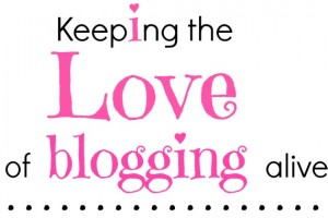 keeping the love of blogging alive