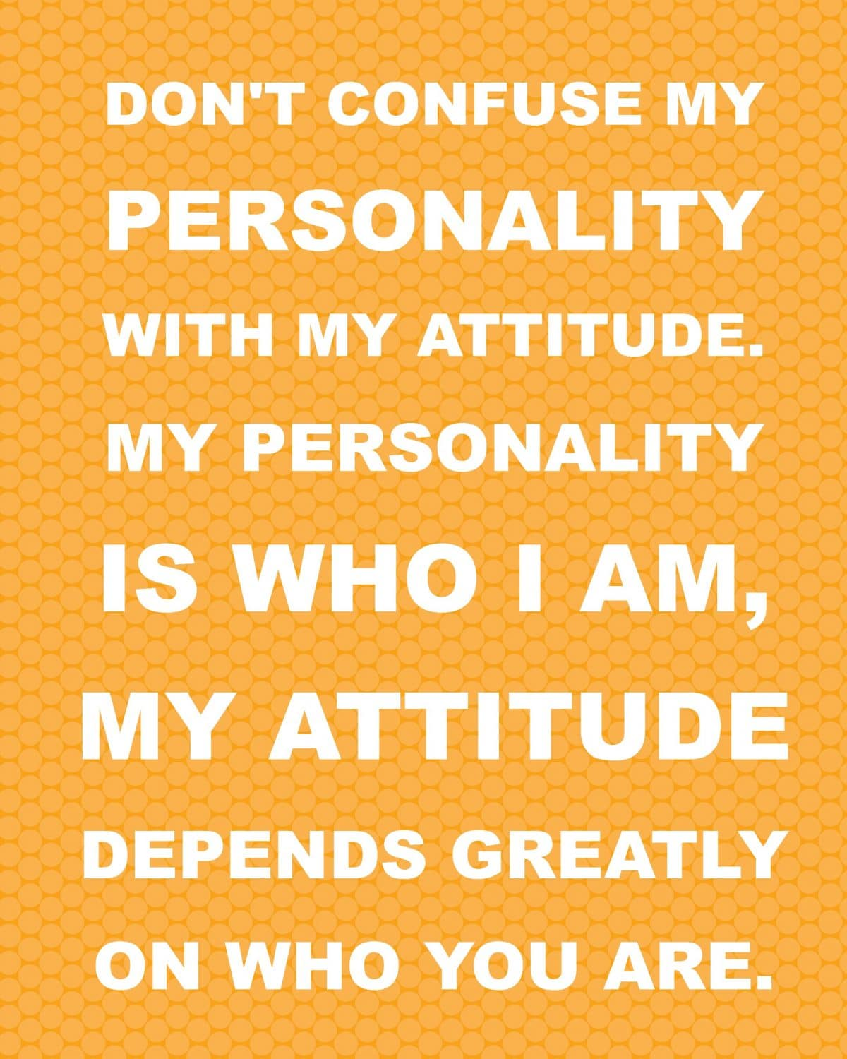 Quotes About Personality: Free Printable Quotes